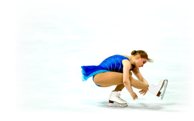elite figure skater and World Championship competitor Viveca Lindfors, whose music I edit
