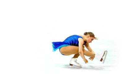 elite figure skater and World Championship competitor Viveca Lindfors, whose music I edit